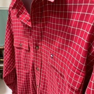 Large Tommy Hilfiger men's casual button up.